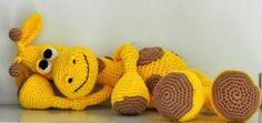 crochet pattern amigurumi giraffe   pdf by MOTLEYCROCHETCREW, $7.00