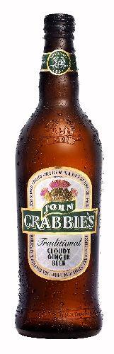 """John Crabbie""""s: O tradicional refrigerante escocês de gengibre é fabricado desde 1801! Tem carbonatação média. A força do gengibre aparece no final. À venda apenas no Reino Unido e na Austrália"""