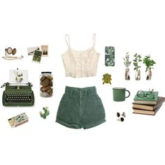 green by treeriam on Polyvore
