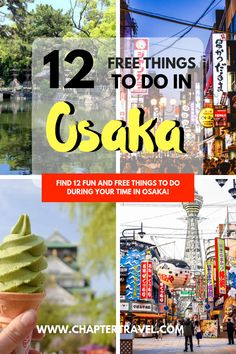 Find 12 Free things to do in Osaka in this article! Japan is known to be expensive, but don't let that stop you from visiting the country if you're on a budget. It's definitely possible to explore Japan on a budget. There are plenty of fun activities in Osaka, Japan that are completely free! #freethings #Osaka #Japanbudget #Japan
