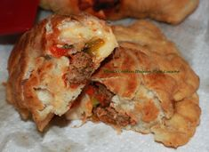 What's Cookin' Italian Style Cuisine: Italian Panzerotti Recipe Italian Meats, Italian Dishes, Italian Recipes, Italian Foods, Panzarotti Recipe, Mouth Watering Food, Delicious Dinner Recipes, Family Meals, Oven