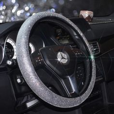 Bling Bedazzled Steering Wheel Coverwith Rhinestones