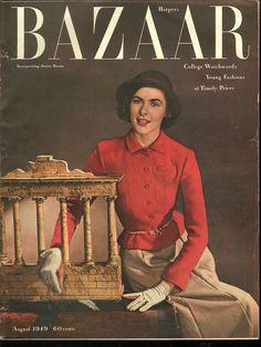 Harpers Bazaar August 1949 - EphemeraForever.com