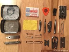 Everyday Carry - Manhattan, New York/Manager of Special Projects Division - Micro EDC Altoids Urban Survival Tin