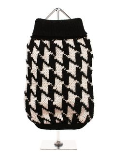 Houndstooth Sweater | Dog Knitted Sweaters at Urban Pup