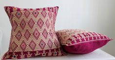 Hand #embroidered cushion & pillows ✨#boho #gypsy #homeinterior #homestyling #mexican #embroidery #ethnic