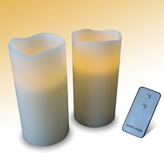 Remote Control LED Candles - Buy from Prezzybox.com