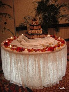 bridal head table decorating ideas | Fall Wedding Decorating Ideas | Weddings | SuperWeddings.com