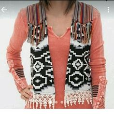 Gimmicks Aztec vest size Large Very cute Gimmicks by Bke Aztec vest size Large gimmicks  Jackets & Coats Vests