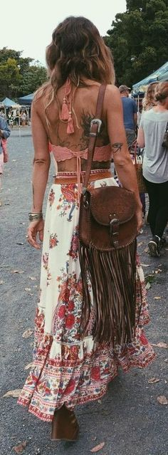 Anita Ghise Boho Outfit Idea Perfect For Coachella Festival