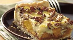 Easy Peach Kuchen....Kuchen, from German kitchens, is a fruit- or cheese-filled cake often served for breakfast, but it's equally good served as a dessert.