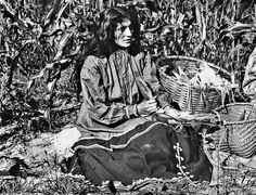 IROQUOIS SENECA WOMAN , circa 1935