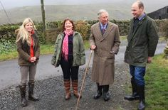 Prince Charles reveals he 'looks forward' to royal baby during 'Countryfile' appearance Julia Bradbury, Country Life Magazine, British Garden, Duchess Of Cornwall, Prince Of Wales, Prince Charles, Duke And Duchess, British Royals, Sweater Weather