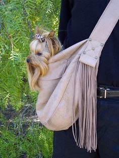 Susan Lanci Buckskin Cuddle Carrier