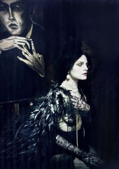 Guinevere van Seenus by Paolo Roversi for Vogue Italia March 2014