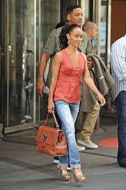 Jada Pinkett Smith in Joe's Jeans Best Friend.