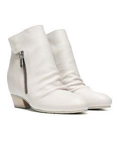 Look what I found on #zulily! Naya Off-White Scruch Fillie Leather Bootie by Naya #zulilyfinds