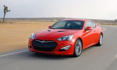 The Genesis coupe is much more composed around corners than previous model years.