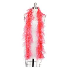 Zucker Feather Products Ostrich 2-Ply Boa for Decoration, Coral 44.16 View the full Halloween content here https://hallowmix.com/shop/halloween-costumes/zucker-feather-products-ostrich-2-ply-boa-for-decoration-coral/