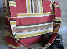 Camera bag Made in the USA by Darby Mack Designs / by DarbyMack