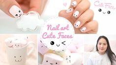 Nail art Kawaii Japan Expo ♡ Cute faces かわいい