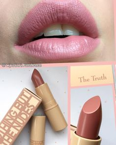 The Lipstick Database: Lipstick Queen Nothing But The Nudes Lipstick in The Truth - full review at @LipstickDatabase on Instagram