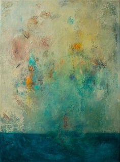 NEW ART THURSDAY! Love this mixed media artwork from UGallery. Splash by Kat Casey Green