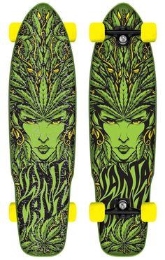 Santa Cruz - Weed Goddess $175.00