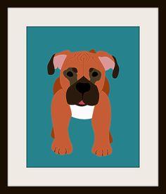 K's dog Scoobie