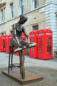"""London - The Ballerina of Covent Garden"" I would love to see this in real life."