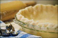 Gluten-Free Pie Crust, Dairy-Free Pie Crust