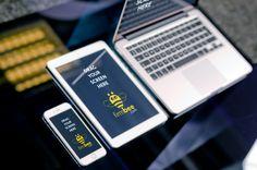 Three Apple devices - iPhone, iPad and MacBook #free #psd #apple #ipad #iphone #mac #laptop #digital #design #mockup #business #mobile #iPhone6 #iPadAir #MacBookAir #Appledevices