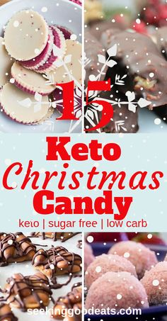These 15 Keto Christmas recipes are the best low carb and keto candy! These suga… These 15 Keto Christmas recipes are the best low carb and keto candy! These sugar free candy recipes are tasty keto fat bombs and low… Continue Reading → Keto Foods, Ketogenic Recipes, Ketogenic Diet, Paleo Diet, Paleo Vegan, Keto Snacks, Low Carb Sweets, Low Carb Desserts, Paleo Sweets