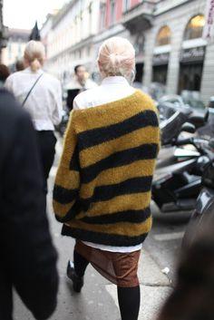 cozy knit. Milan.