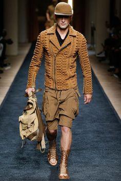 Balmain Spring 2016 Menswear - Collection - Gallery - Style.com: