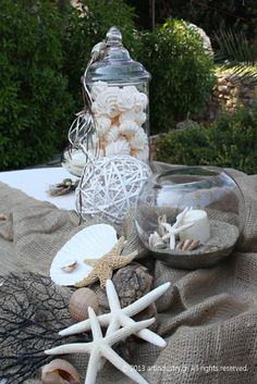 #wedding #starfish Sweet Memories, Starfish, Sea Shells, Garden Sculpture, Wedding Day, Outdoor Decor, Pi Day Wedding, Seashells, Marriage Anniversary