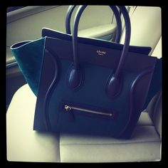 Celine riding shotty!