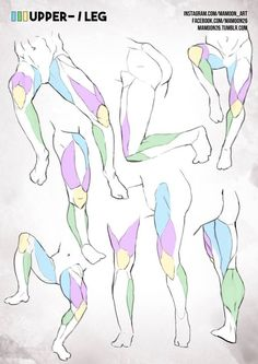 anatomy drawing tutorial simplified anatomy 04 - male leg by mamoonart - Male Figure Drawing, Body Reference Drawing, Anatomy Reference, Art Reference Poses, Leg Reference, Drawing Legs, Guy Drawing, Drawing Muscles, Drawing Models
