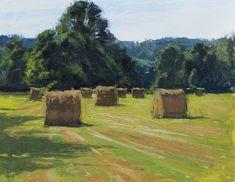 Kevin Menck Fine Art: Busy Busy Landscape Art, Landscape Paintings, Acrylic Paintings, Farm Paintings, Impressionist Art, Traditional Art, Artsy, Watercolor, Fine Art