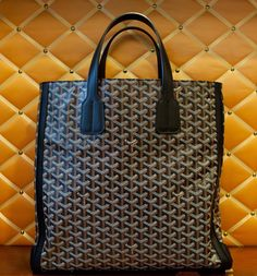 #goyard tote. Good for music scores, everyday life stuff.