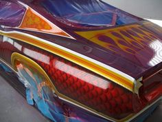 Art & Inspiration - Candy, Lace, Flake, Flames... wanna see WILD custom paint... | The H.A.M.B.