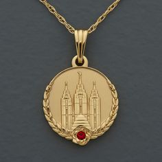 Young Womanhood Recognition Medallion - a beautiful pendant for the girls who complete personal progress. A Church program to promote appreciation for womanhood.