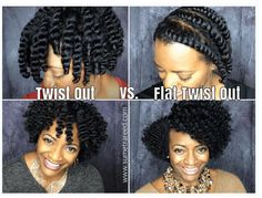The Twist Out vs. Flat Twist Out teaches you two ways to create stunning curls on your natural hair