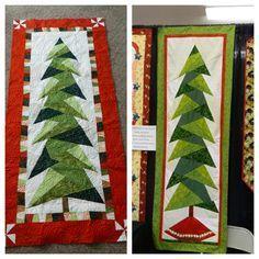 Tall trim the tree wall hanging #Christmas