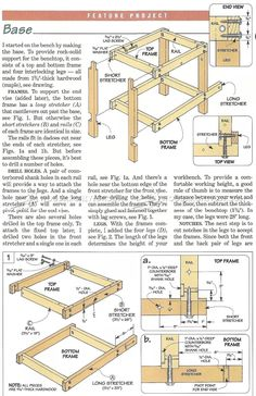 #3080 Small Workbench Plans - Workshop Solutions