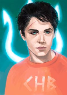 Percy Jackson. He needs sea green eyes though!>>>they're sea-green enough!