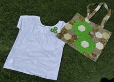 Bolso patchwork Apron, Fashion, Scrappy Quilts, Totes, Moda, Fashion Styles, Fashion Illustrations, Aprons