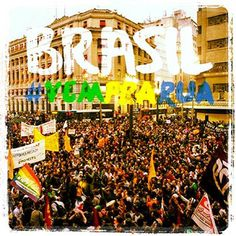 Protestos, manifestação