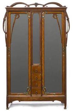 Bildergebnis für art nouveau bed frame