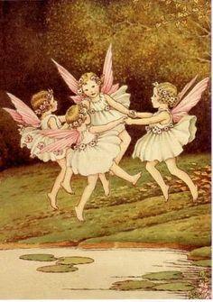IDA RENTOUL OUTHWAITE Fairy Ring, Preparing for Ball